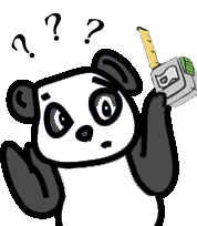 Confused Measuring Panda