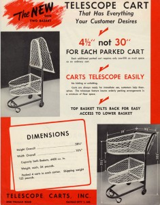 Watson's telescoping cart design