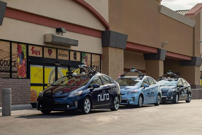 Prius fleet at Fry's