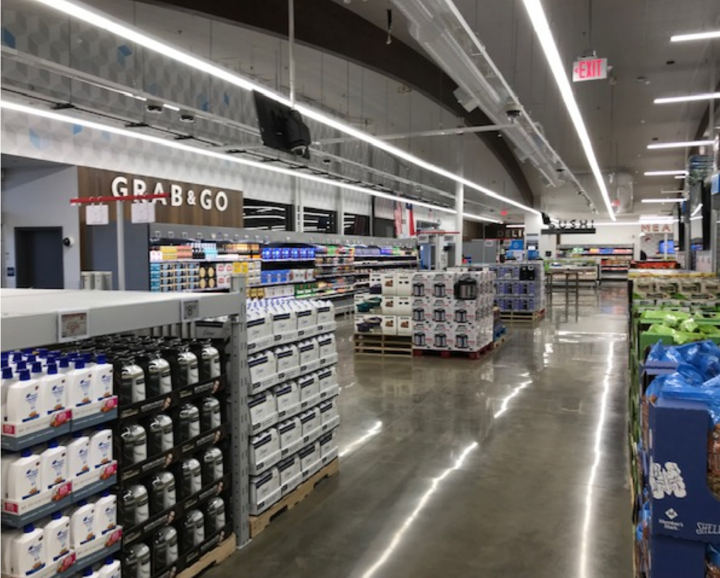 Sam's Club Now: A large assortment and non-food products in-store