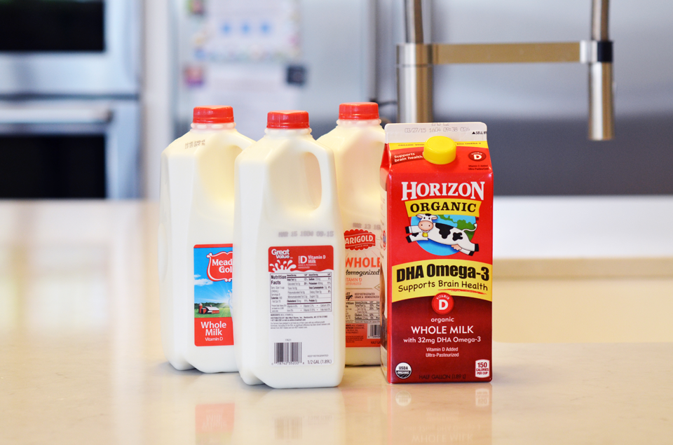 Private Label Milk vs National Brand