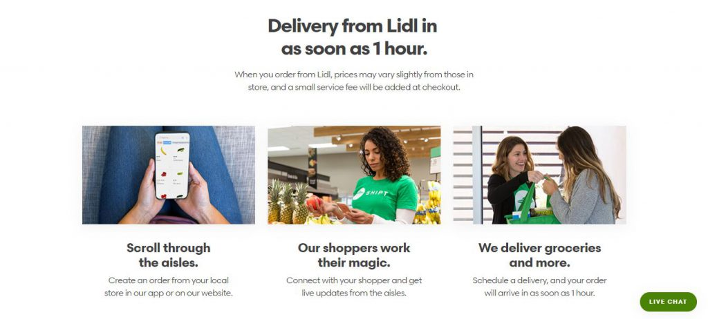 Shipt with Lidl